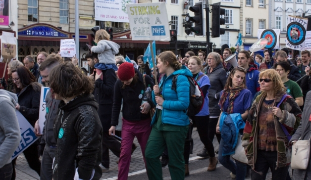 junior-doctors-and-their-supporters-march-in-bristol